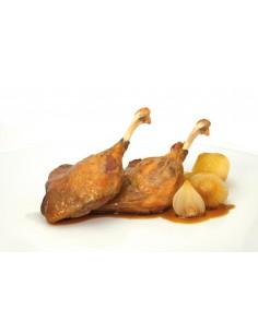 Duck legs confit