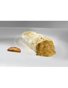 Mini-Cannelloni au fondant de boeuf, pied de porc et foie gras