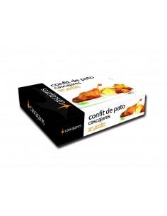 Confit de Pato Cascajares con salsa Marnier y gratén de patatas
