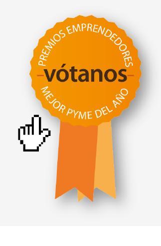 ¡Vuestro voto a través de la red ha sido fundamental, gracias!