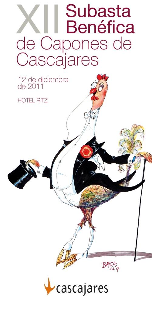 Ilustración de BARCA anunciando la Subasta de este año