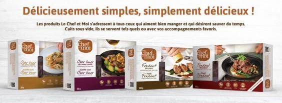 """La gama de productos de """"Le Chef et Moi"""""""