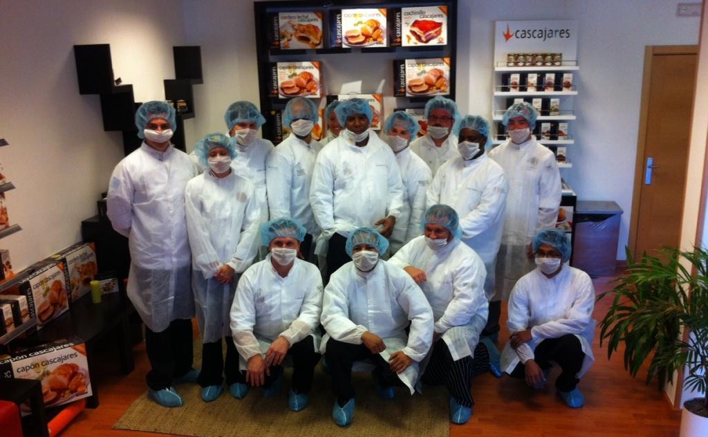 Foto de grupo de los chefs de Hoteles Wyndham