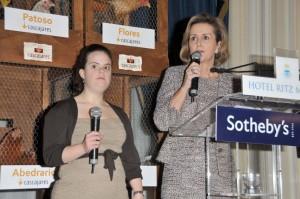 La Presidenta de PRODIS, Soledad Herreros, junto una alumna del programa PROMENTOR