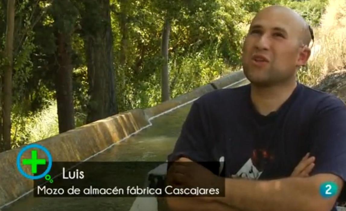Luis Vázquez, compañero de Cascajares y ejemplo de superación y esfuerzo