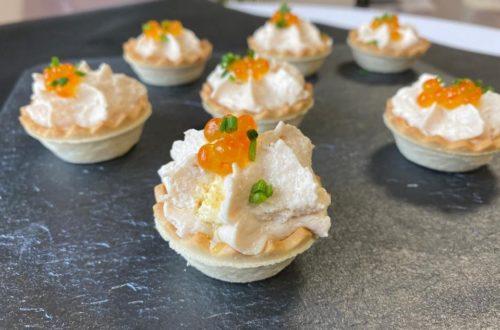 Tartaleta de mousse de Pavo Cascajares