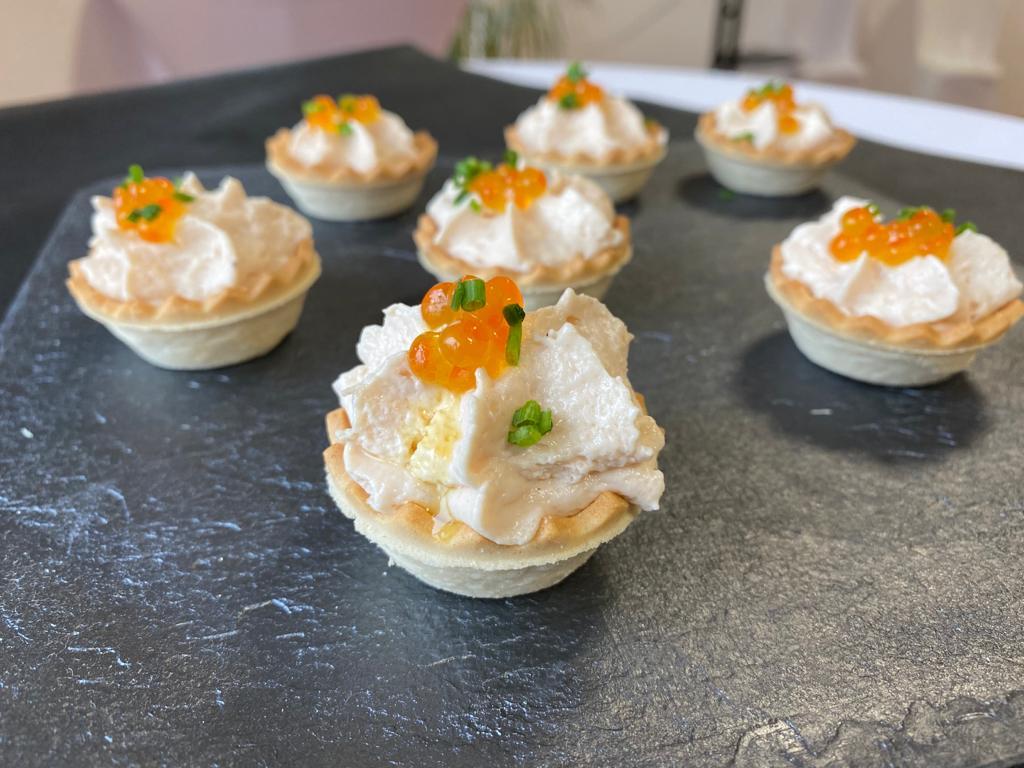 Tartaletas de mousse de Pavo Cascajares